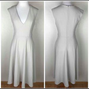 ASOS light taupe dress